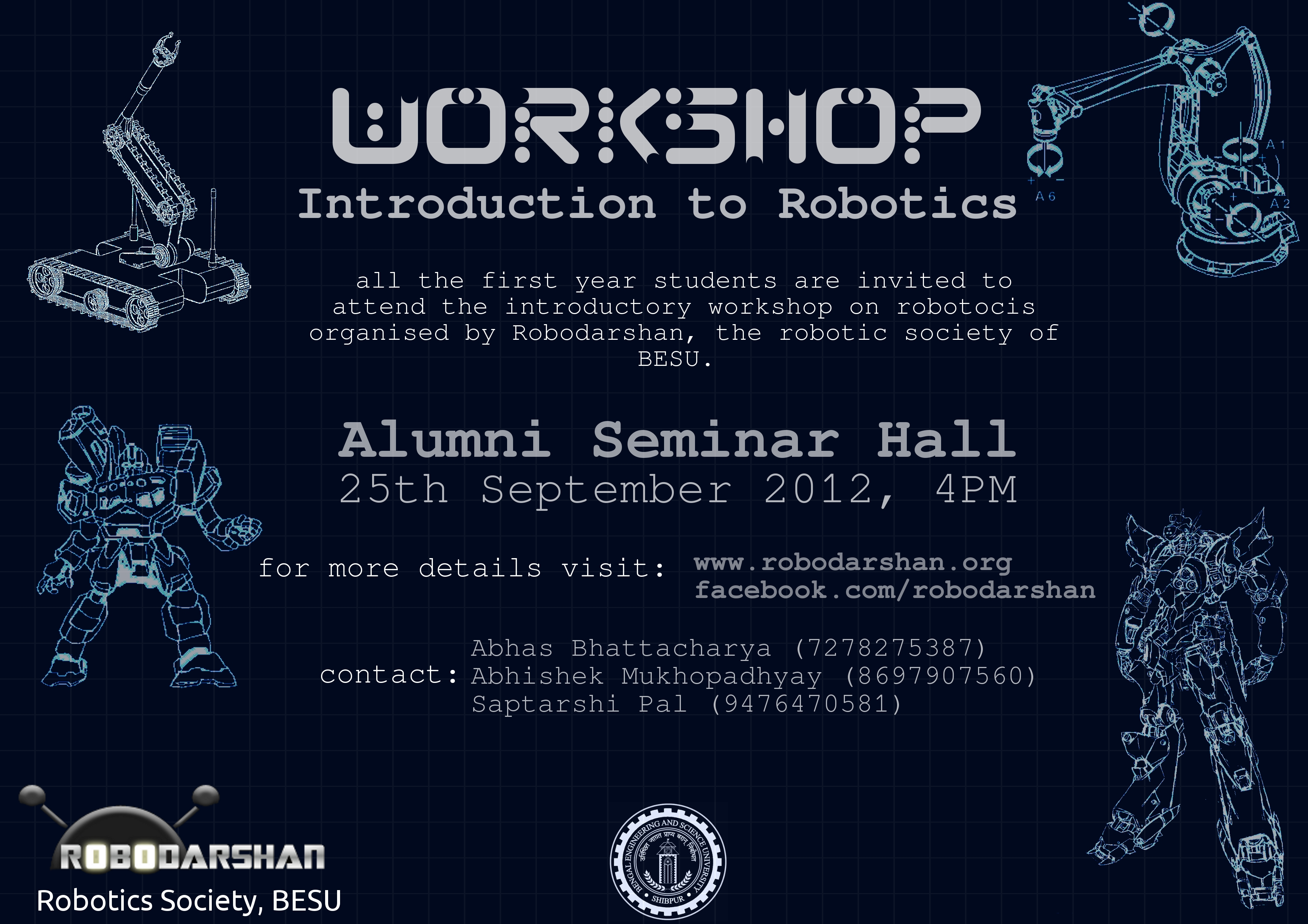 Toys In The Attic Poster For Robodarshan Workshop